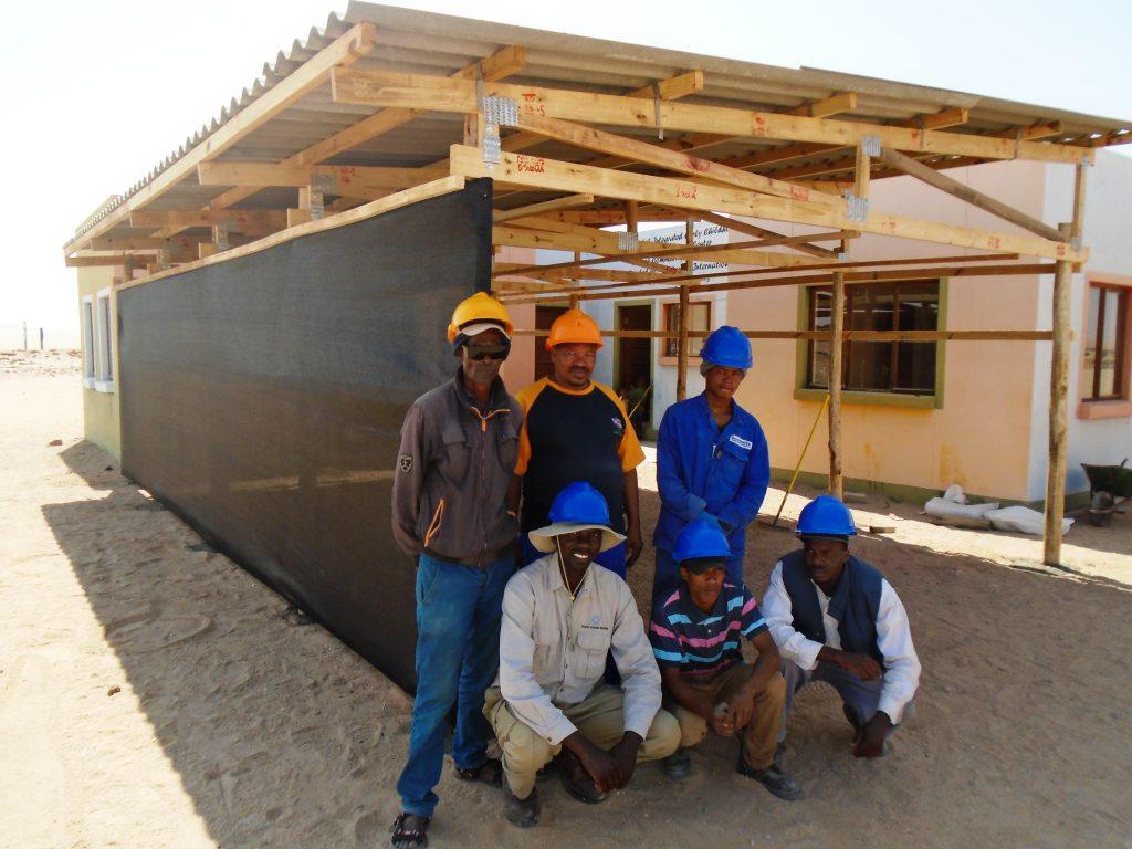 CSR work at Topnaar Community Childcare Centre